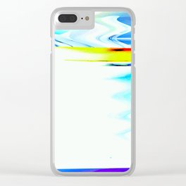 Sonic Freeze Clear iPhone Case