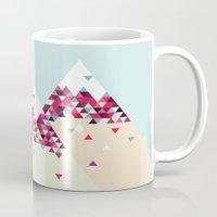 twin peaks Mugs featuring Twin Peaks by Attitude Creative