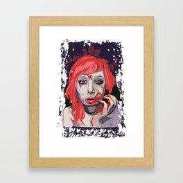 First Taste Framed Art Print