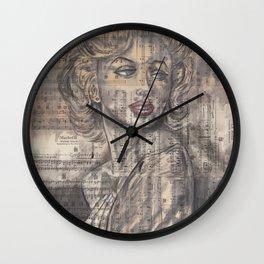 Marylyn Wall Clock