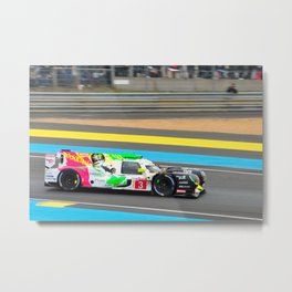 Rebellion R13 Gibson 24 Hours of Le Mans 2019 Metal Print