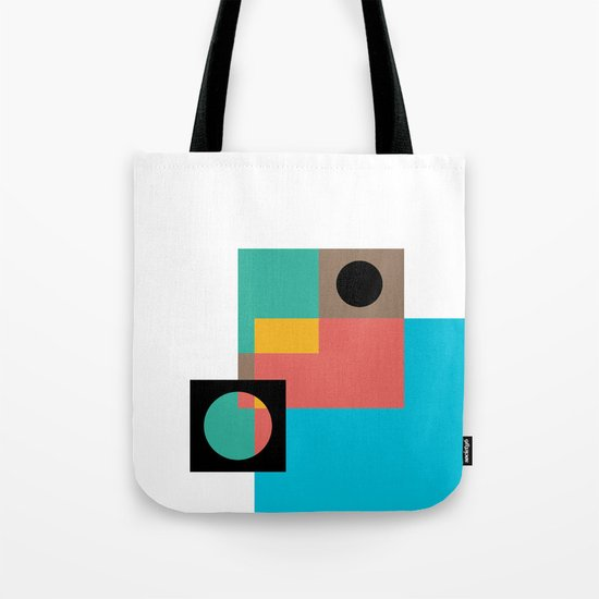 Geometric Crazy 1 Tote Bag