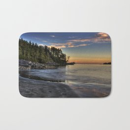 Sunset of Seclusion Bath Mat