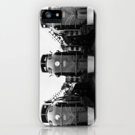 Three of a Kind Train Locomotives - Trois locomotives du même genre  iPhone Case