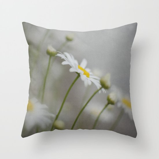Daises  Throw Pillow