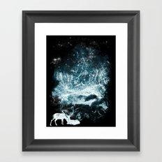 Aurora Animalia Framed Art Print