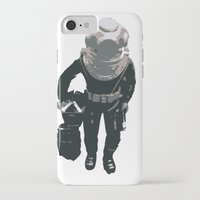 scuba iPhone & iPod Cases featuring Scuba Diver by Jentfah