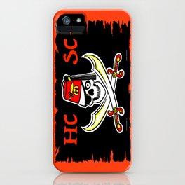 HCSC Pirate Flag iPhone Case
