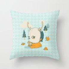 Esquilophrenic Throw Pillow
