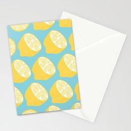 Lemon pattern 13 Stationery Cards