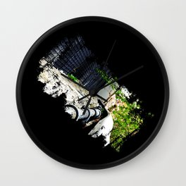 Highline in Distress Wall Clock