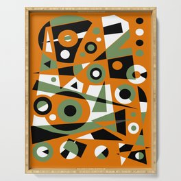 Abstract #977 Serving Tray