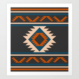 Cabin rug decor Art Print
