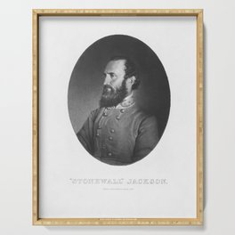 Stonewall Jackson Serving Tray