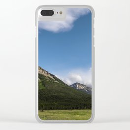 Waterton Landscape Photography Clear iPhone Case