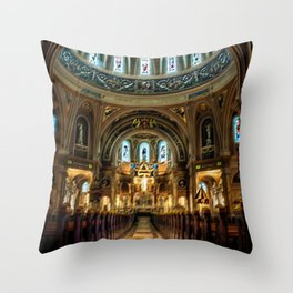 'The Church of Strange New Things,' A Portrait by Jeanpaul Ferro Throw Pillow