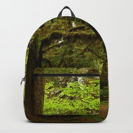 The Opulence Of The Rainforest Backpack