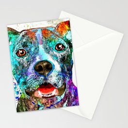 American Pit Bull Terrier Stationery Cards