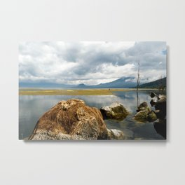 Off the shores of Lake Atitlan Metal Print