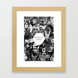 Nouvelle Vague Framed Art Print
