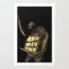 Pregnant Necro Art Print