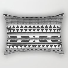 DG Aztec No.1 Monotone Rectangular Pillow