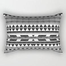 DG Aztec No.1 Monotone Rectangular Pillow