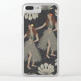Hula Girls Clear iPhone Case