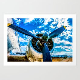 Aviation forever Art Print