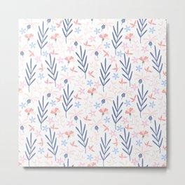 floral (76) Metal Print