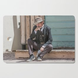 The Thinker Old West Sheriff Cutting Board
