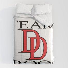 DareDevil Team Groom Comforters