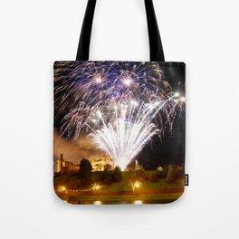 Castle Illuminations Inverness Scotland Tote Bag