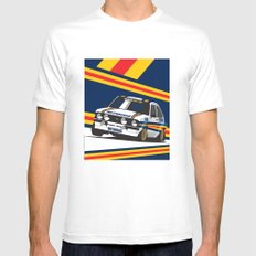 Ford Escort RS2000 White MEDIUM Mens Fitted Tee