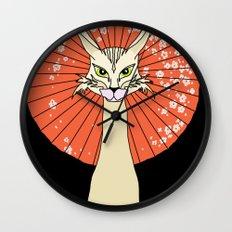 Felidae Wall Clock