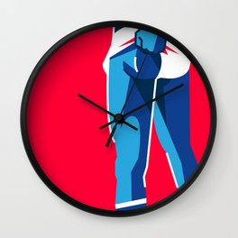 MALE 02 Wall Clock