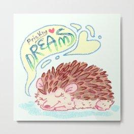 Prickly Dreams Metal Print