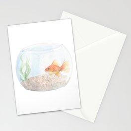 Grumpy Goldfish Stationery Cards