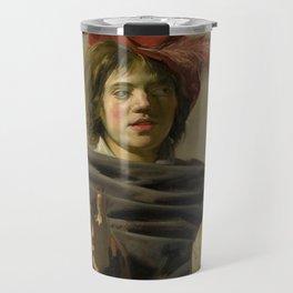 "Frans Hals ""Young man with a skull"" Travel Mug"