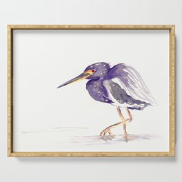 Tricoloured Heron Serving Tray