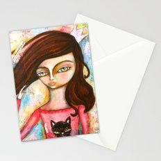 The Black Cat Princess Stationery Cards