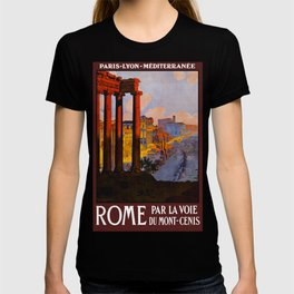 Vintage Rome Italy Travel T-shirt