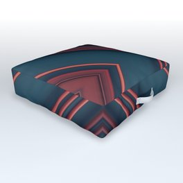 Gas Tubes Outdoor Floor Cushion