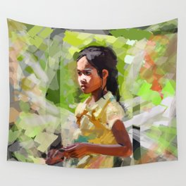 Bright Day Wall Tapestry