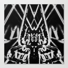 Neon Tarantula Canvas Print