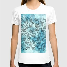 Fishes In Marble T-shirt