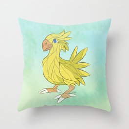 Chocobo Throw Pillow