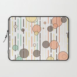 Circles and lines Laptop Sleeve