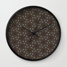 Horrible Patterns ~ Curves 80s Wall Clock