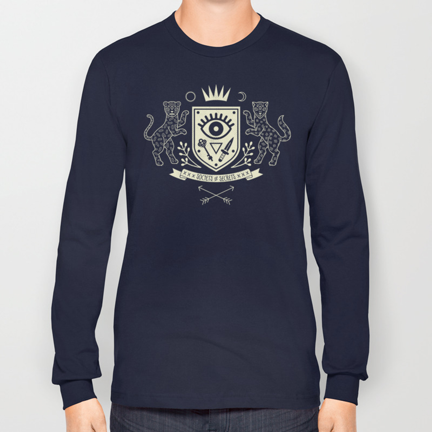 The Secret Society Long Sleeve T-shirt by camillechew